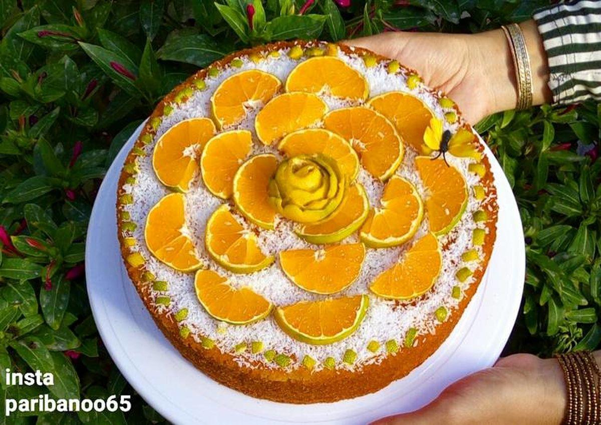 آموزش و دستور تهیه کیک نارنگی بسیار خوشمزه